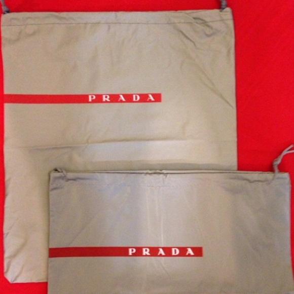 6e8f4865eea8 Prada Bags | Sport Nylon Shoes Dust Bag | Poshmark